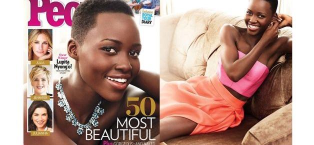 Lupita Nyong'o People's Most Beautiful Person 2014